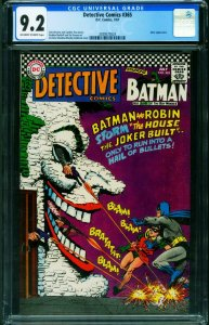 Detective #365 CGC 9.2 1967- Batman Joker cover 2039573024