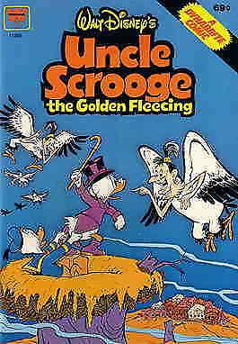 Uncle Scrooge the Golden Fleecing (Walt Disney's…) #1 FN; Whitman | save on ship
