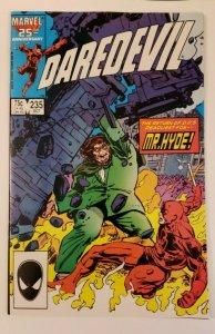 Daredevil #235 (1986) A Safe Place NM 9.4 Steve Ditko