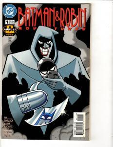 Lot Of 5 Batman & Robin Adventures DC Comic Books # 1 (96 Annual) 6 12 15 17 TD6