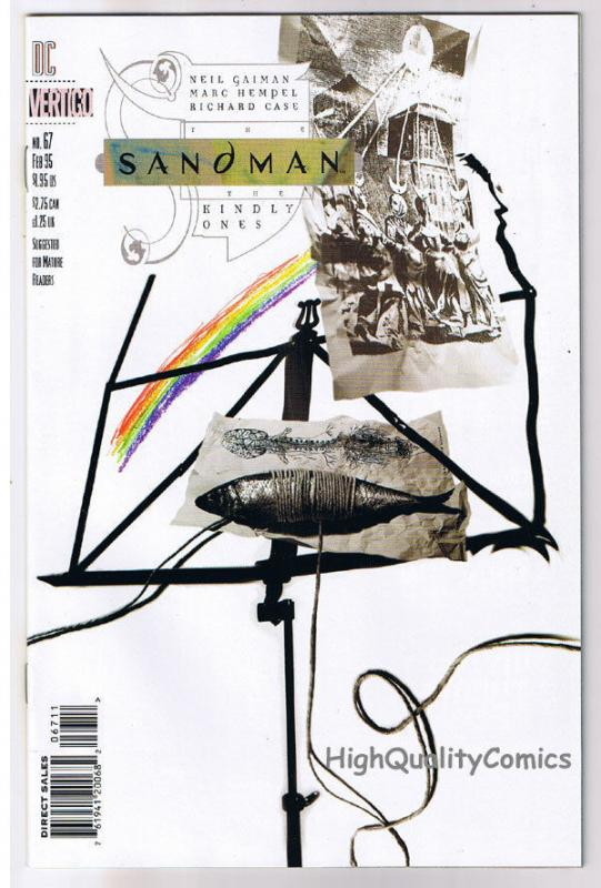 SANDMAN #67, NM, Vertigo, Neil Gaiman, Marc Hempel, 1989, more in store