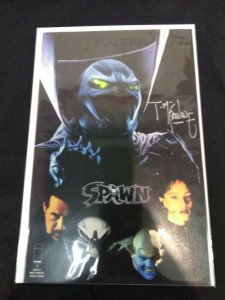 Spawn #1 Movie Cover Variant SIGNED BY TODD MCFARLANE WITH COA