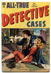 All-True Detective Cases #4 Avon Golden Age Comic VG