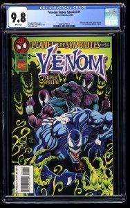 Venom Super Special #1 CGC NM/M 9.8 White Pages