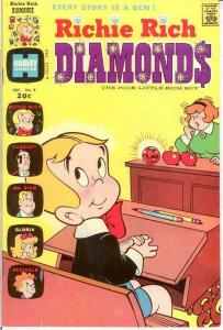 RICHIE RICH DIAMONDS (1972-1982) 9 VF December 1973 COMICS BOOK