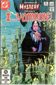 HOUSE OF MYSTERY 313 VF-NM I Vampire  Feb. 1983 COMICS BOOK