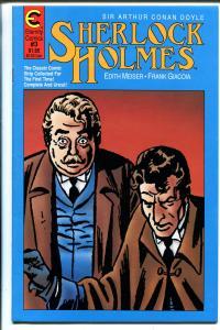 Sherlock Holmes #3 1988-Eternity-Conan Doyle-newspaper strip reprint-FN/VF