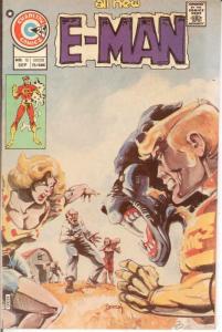 E MAN 10 VF Sept. 1975 COMICS BOOK