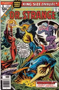 Doctor Strange (2nd Series) Annual #1 FN; Marvel | save on shipping - details in
