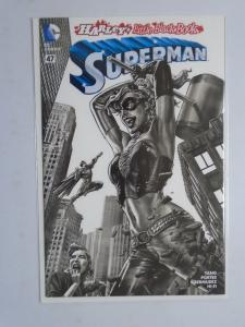 Harley's Little Black Book Variant Covers Complete Superman #47D, 8.5/VF+ (2016)