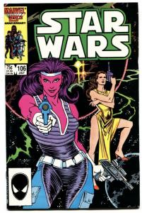 STAR WARS COMICS #106-Late issue-HTF-Low Distribution-Comic book