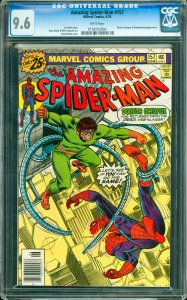 Amazing Spider-Man #157 CGC Graded 9.6 Doctor Octopus & Hammerhead appearance.