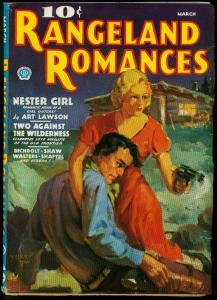 PULP PROOF RANGELAND ROMANCES 03/36 ART LAWSON ESTATE
