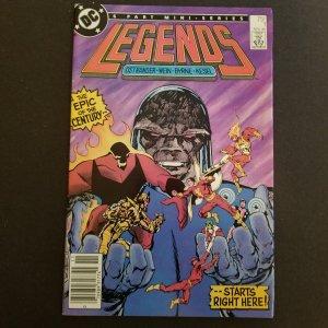 Legends #1- Part 1 of 6 part Mini-Series