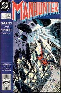 Manhunter (1988 series) #20, VF (Stock photo)