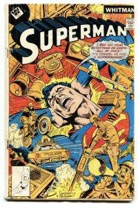 Superman #321 1978-DC-rare Whitman variant-G/VG