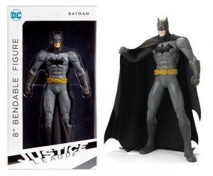 DC Justice League Batman 8 Bendable Figure - New!
