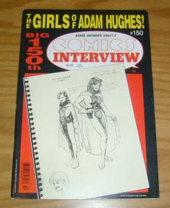 Comics Interview #150 VF- girls of adam hughes