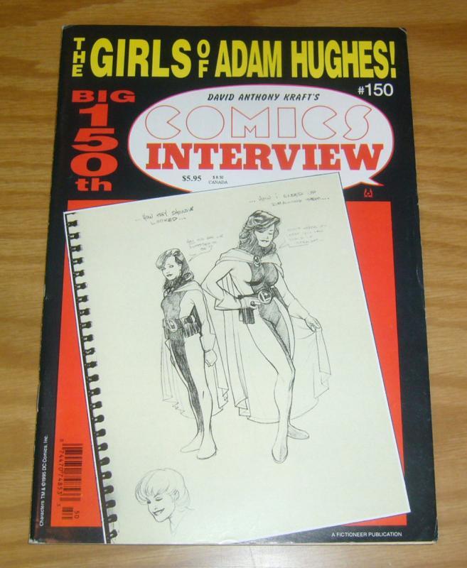 Comics Interview #150 VF- girls of adam hughes