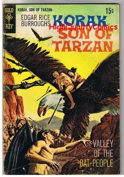 KORAK, SON of TARZAN #30, GD+, Burroughs, Gold Key, 1964, more GK in store