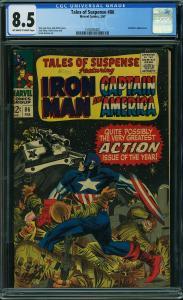 Tales of Suspense #86 (Marvel, 1967) CGC 8.5
