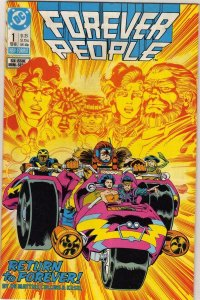 FOREVER PEOPLE #1, NM, De Matteis, Kesel, DC, 1988, more in store