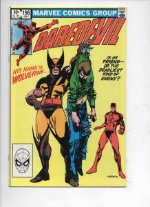 DAREDEVIL #196 NM-  Murdock, Wolverine, 1964 1983, more Marvel in store