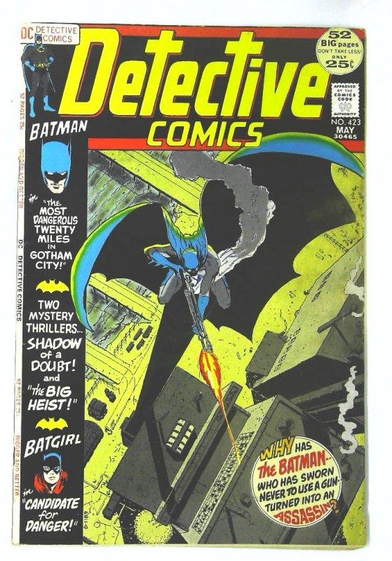 Detective Comics (1937 series) #423, Fine (Actual scan)