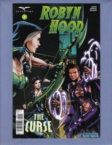 Robyn Hood The Curse #2 NM Variant Cover B Zenescope 2018