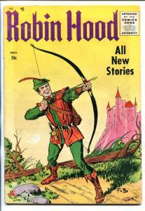 ROBIN HOOD #52 1955-ME-1ST ISSUE-FRANK W BOLLE-ORIGIN-vg minus