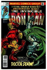 Invincible Iron Man #593 Lenticular 3D Variant Dr Doom #150 Homage (NM)