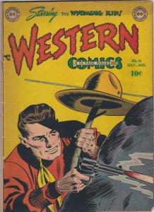Western Comics 10 GD (Aug. 1949)