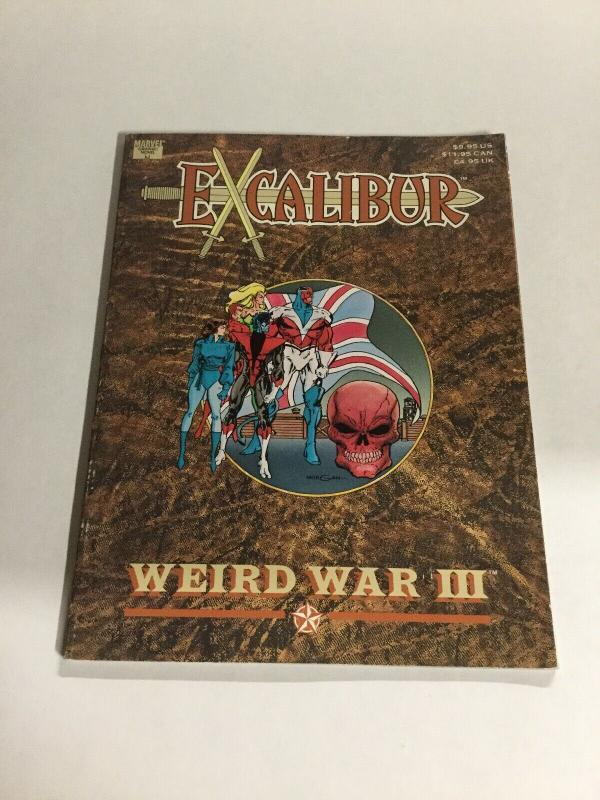 Excalibur Weird War III Marvel Gaphic Novel SC Softcover B19