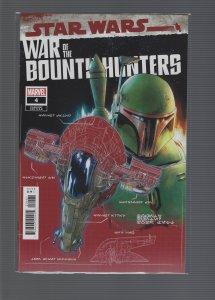 Star Wars: War of the Bounty Hunters #4 Variant
