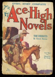 ACE-HIGH NOVELS MAY 1932 #2-WILD PULP ADVENTURE STORIES G
