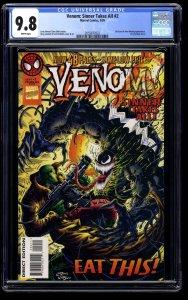 Venom: Sinner Takes All #2 CGC NM/M 9.8 White Pages