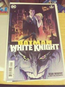 BATMAN WHITE KNIGHT # 1  2017 DC   GRADE WHITE PAGES  1STPRINT