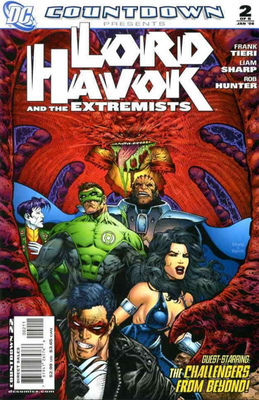 Countdown Presents: Lord Havok & The Extremists #2 VF/NM; DC | save on shipping
