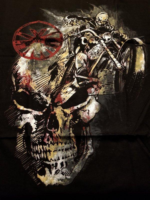 Ghost Rider Spirit of Vengeance T-Shirt L NOS w/ Tags  Marvel