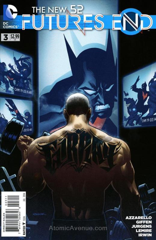 New 52, The: Futures End #3 VF/NM DC - save on shipping - details inside
