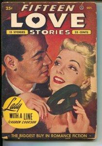 Fifteen Love Stories 10/1950-Popular-Ricardo Montalban-pulp thrills-Peggy Gra...