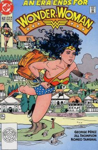 Wonder Woman (2nd Series) #62 FN; DC   save on shipping - details inside