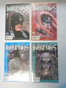 Inhumans set #1-4 8.0/VF (2000 3rd Series)