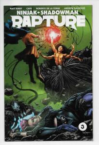 Ninjak Shadowman Rapture #3 Cvr A (Valiant, 2017) NM