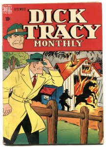Dick Tracy #12 1948- Dell comics- Chester Gould VG-