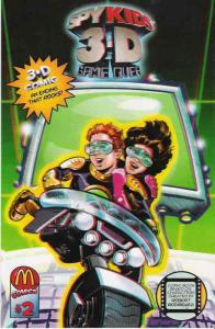 Spy Kids 3-D: Game Over #2 VF/NM; McDonalds | save on shipping - details inside