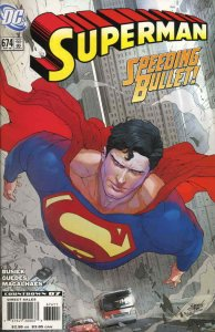 Superman (2nd Series) #674 VF/NM; DC   save on shipping - details inside