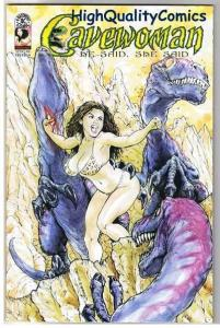 CAVEWOMAN HE SAID SHE SAID, NM, Limited, Budd Root, 2003, more CW in store