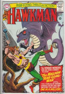Hawkman #12 (Mar-66) FN- Mid-Grade Hawkman