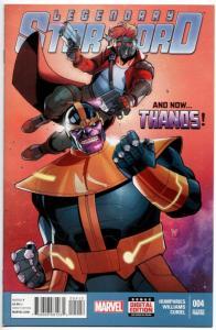 Legendary Star Lord #4 / 2nd Printing Variant / Thanos (Marvel, 2015) NM